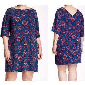 Leota Nouveau Reversible Sheath Dress 2L 2X
